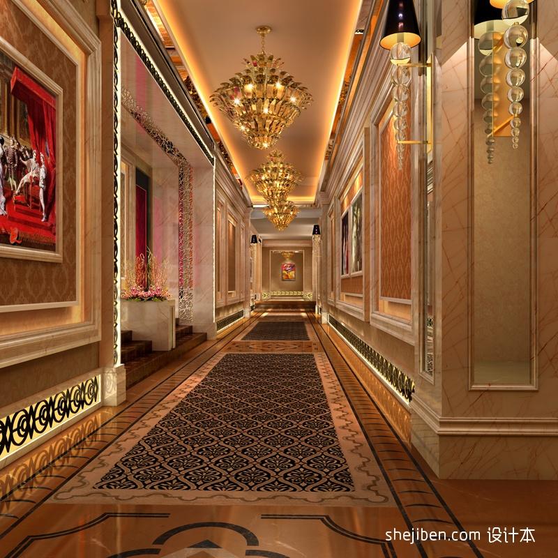 走廊酒店空间其他设计图片赏析