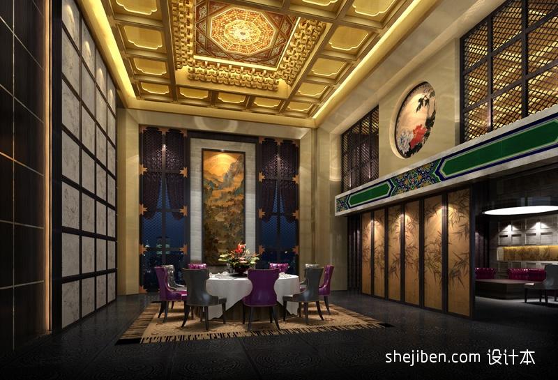 中式酒店台布图片酒店空间其他设计图片赏析