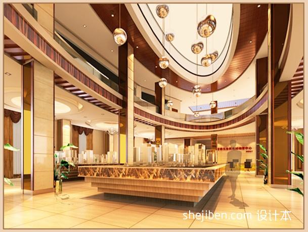 大厅效果图后续传实景图售楼中心其他设计图片赏析
