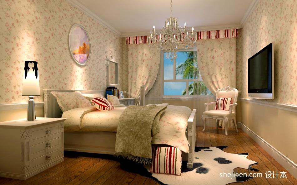 卧室效果图卧室潮流混搭卧室设计图片赏析