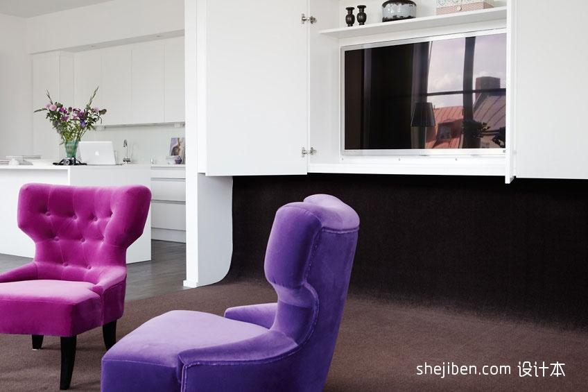 二居客厅混搭装修图片大全客厅潮流混搭客厅设计图片赏析