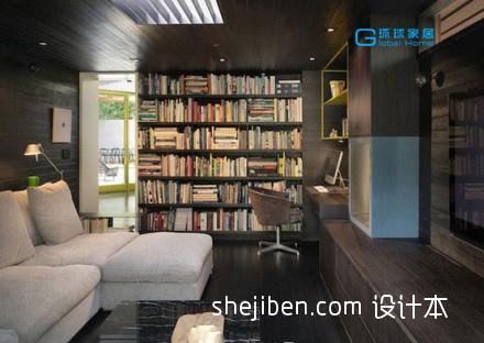 书窝客厅潮流混搭客厅设计图片赏析