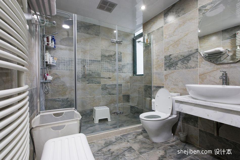 精选112平米混搭复式卫生间装修效果图片欣赏功能区其他功能区设计图片赏析
