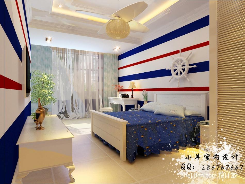 热门混搭别墅儿童房装饰图片欣赏卧室潮流混搭卧室设计图片赏析