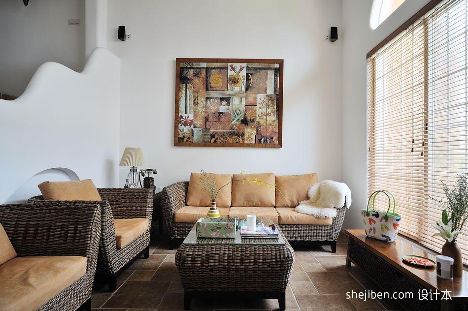 2018精选地中海一居客厅设计效果图客厅地中海客厅设计图片赏析
