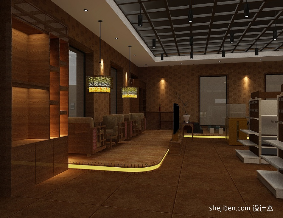 卖场1酒店空间设计图片赏析