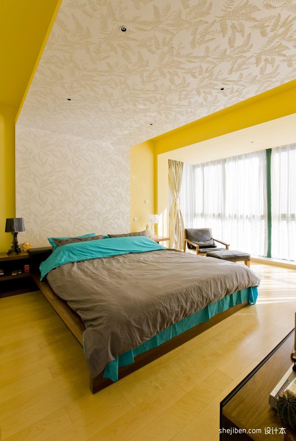 2018精选112平米混搭复式卧室装修实景图功能区其他功能区设计图片赏析