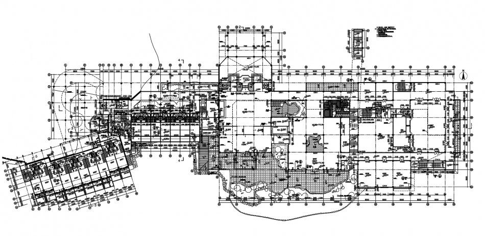 首层平面布置图酒店空间其他设计图片赏析