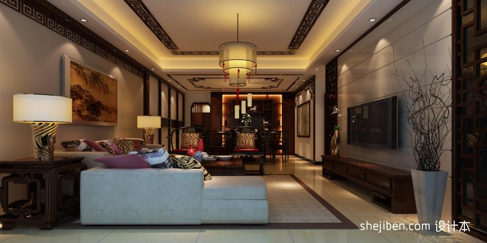 宝湖新村客厅潮流混搭客厅设计图片赏析