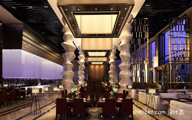 西餐厅01酒店空间其他设计图片赏析
