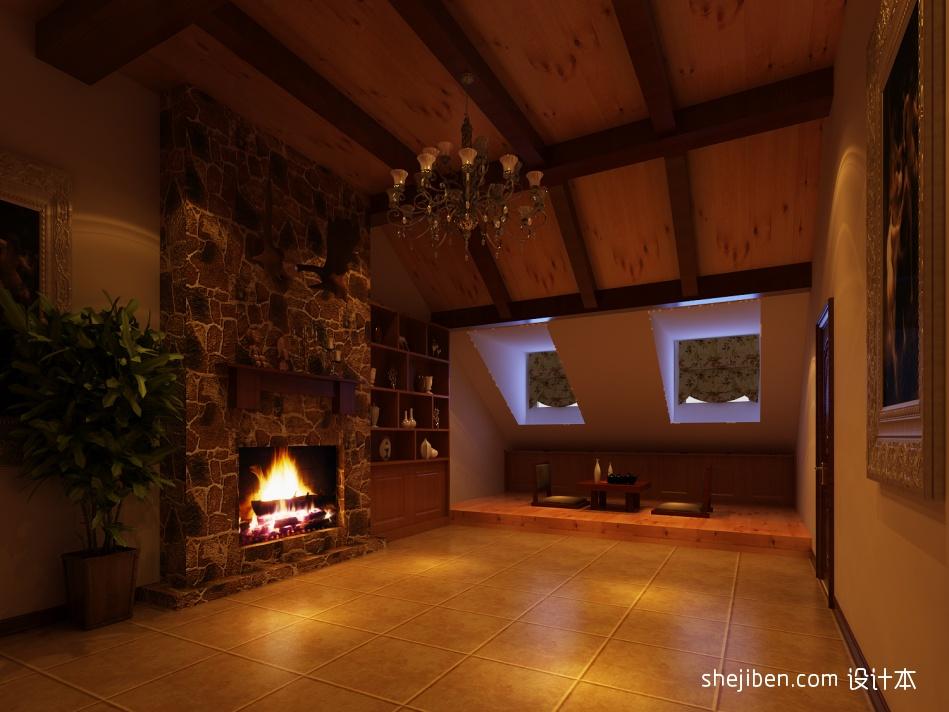 精美121平米混搭别墅客厅装修实景图客厅潮流混搭客厅设计图片赏析