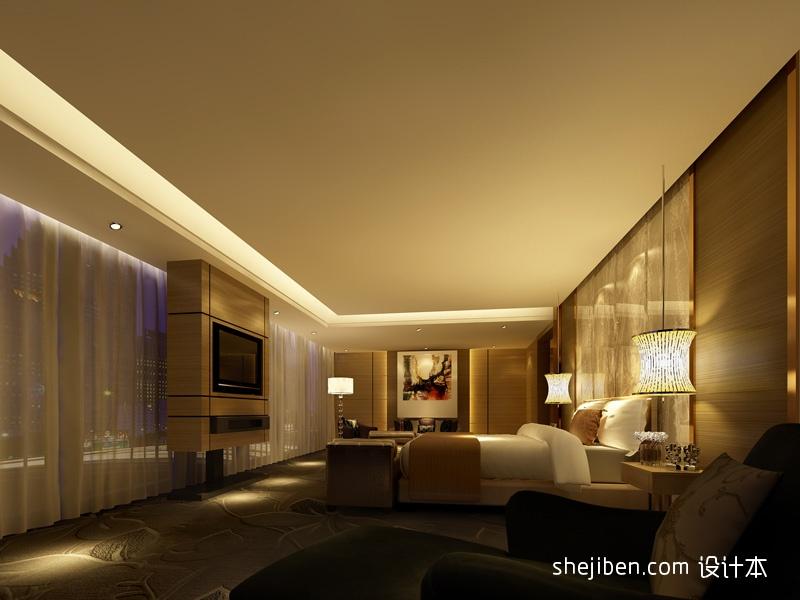 床旗效果图大全酒店空间其他设计图片赏析