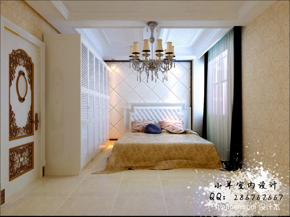 热门面积117平别墅卧室混搭装饰图片卧室潮流混搭卧室设计图片赏析