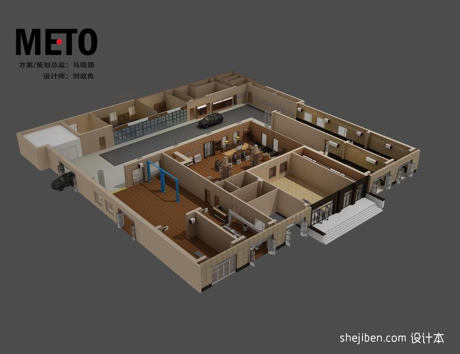 鸟瞰2酒店空间设计图片赏析