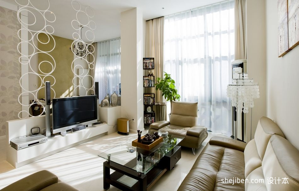 精美140平米混搭复式客厅装修实景图片大全功能区其他功能区设计图片赏析