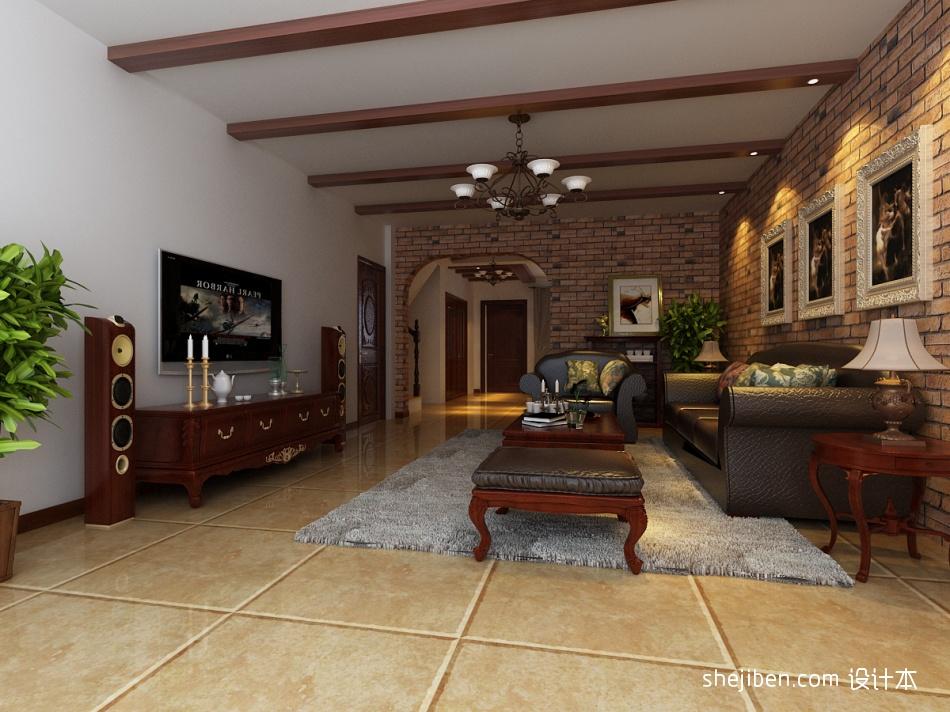 热门面积144平别墅客厅混搭装饰图客厅潮流混搭客厅设计图片赏析