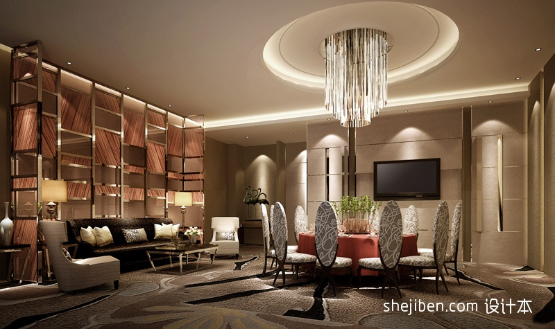 中餐VIP包间酒店空间其他设计图片赏析