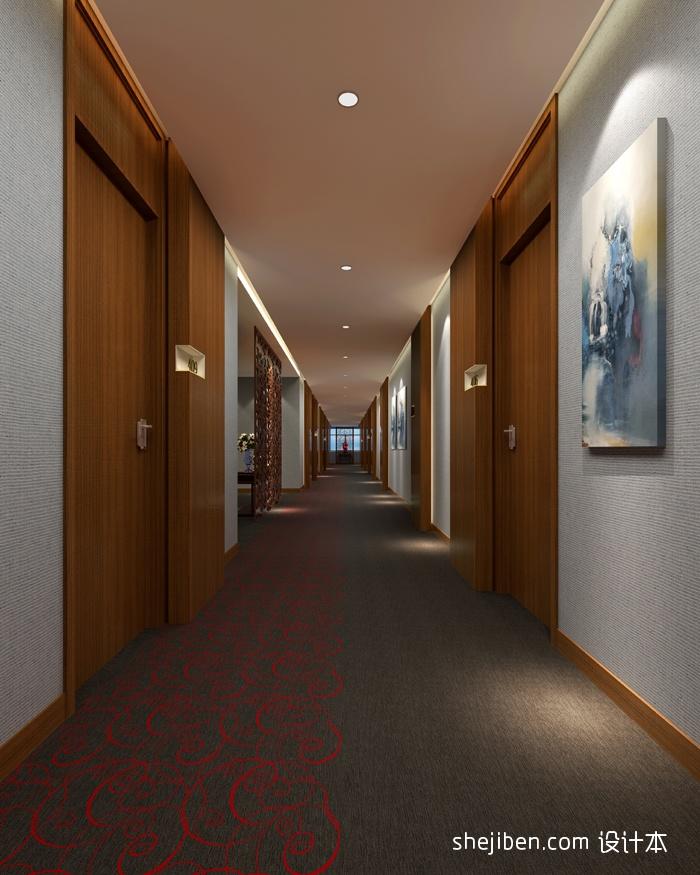 客房走道酒店空间其他设计图片赏析