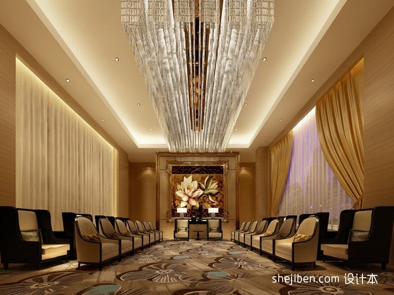 贵宾厅酒店空间其他设计图片赏析