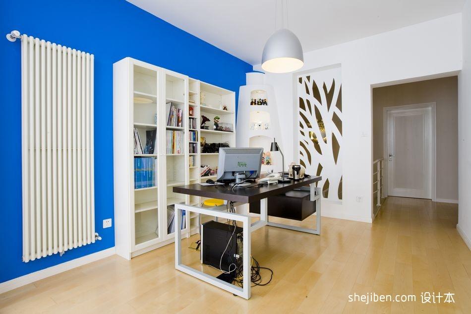 精美134平米混搭复式书房实景图片功能区其他功能区设计图片赏析