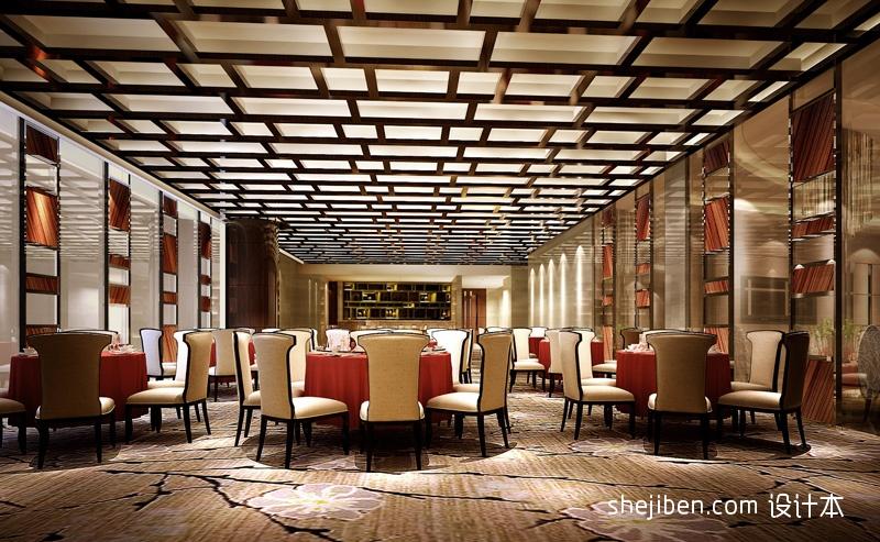 中餐大厅酒店空间其他设计图片赏析