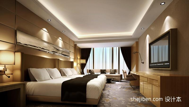 豪华宾馆标准间设计酒店空间其他设计图片赏析
