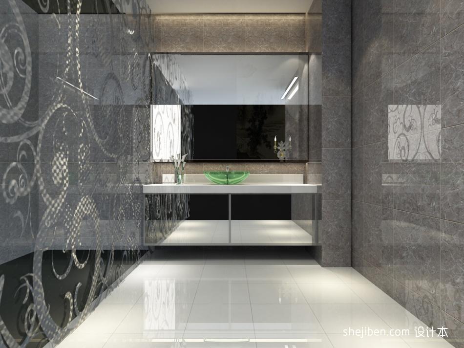 二楼卫生间餐饮空间其他设计图片赏析