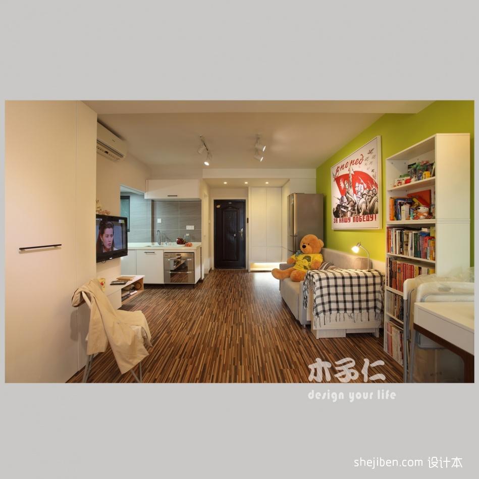 面积82平小户型客厅混搭欣赏图片大全客厅潮流混搭客厅设计图片赏析
