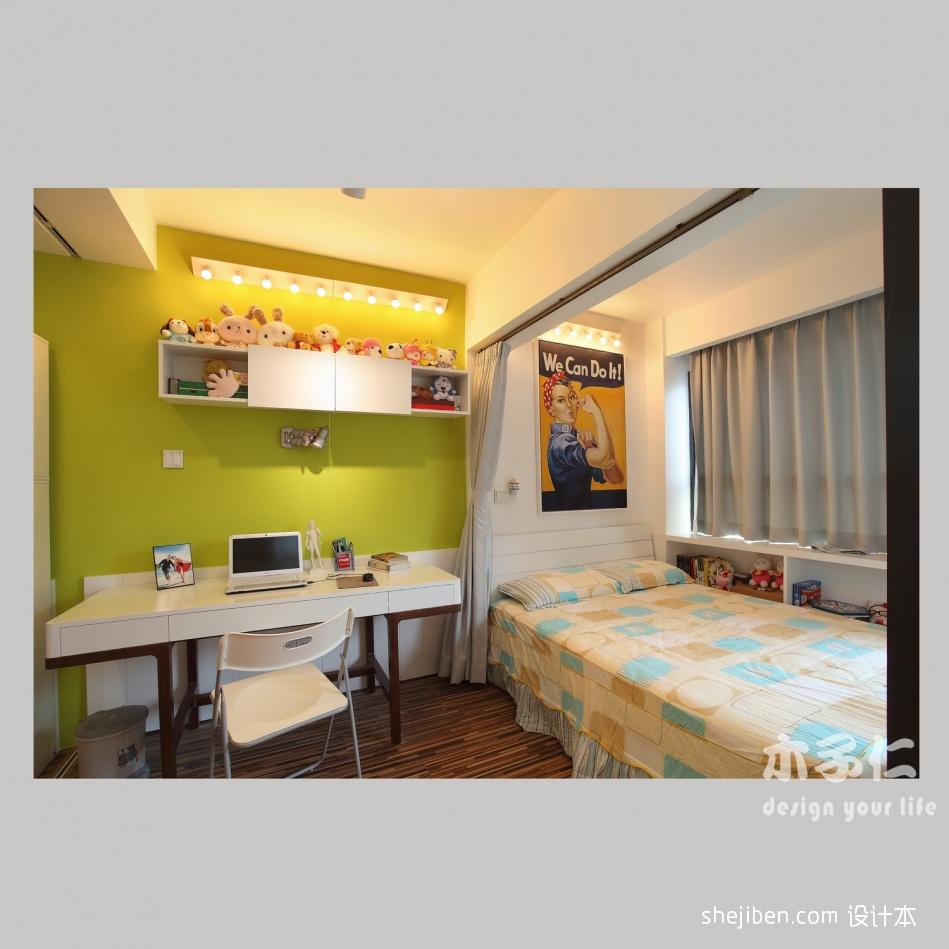 平米混搭小户型卧室装修设计效果图片欣赏卧室潮流混搭卧室设计图片赏析