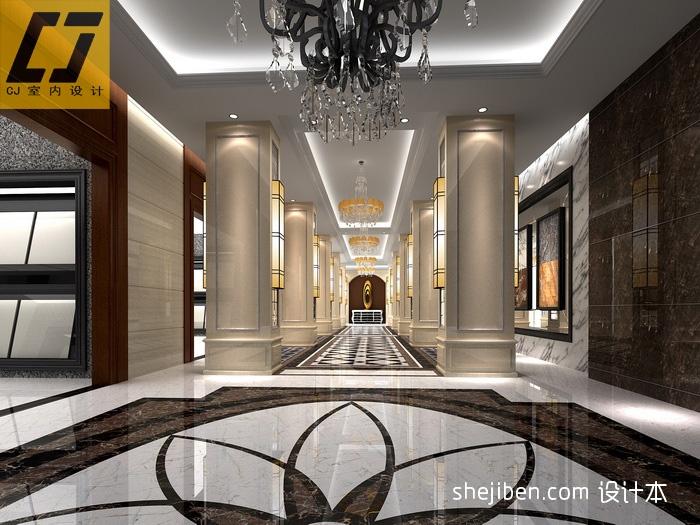 走廊展区商业展示其他设计图片赏析