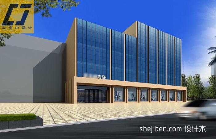 展厅全玻璃幕墙装修效果图商业展示其他设计图片赏析