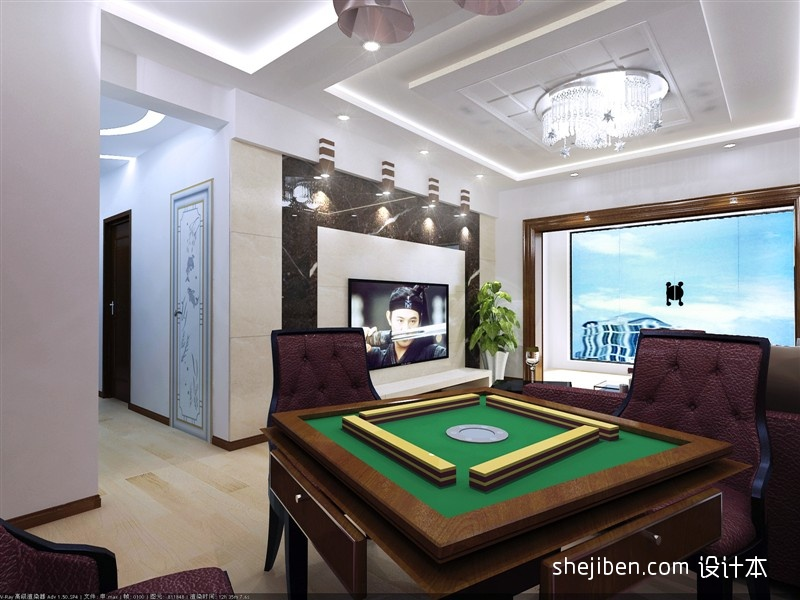 热门117平方四居客厅混搭效果图客厅潮流混搭客厅设计图片赏析