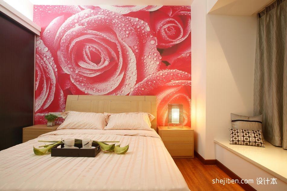 面积106平现代三居卧室装修设计效果图片卧室现代简约卧室设计图片赏析