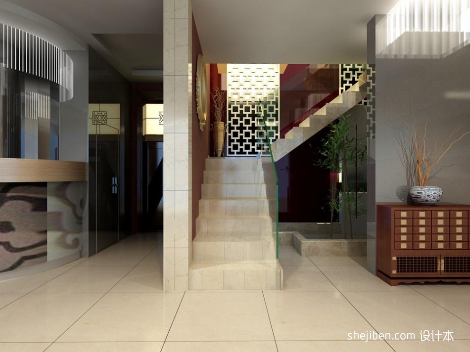 楼梯间餐饮空间其他设计图片赏析