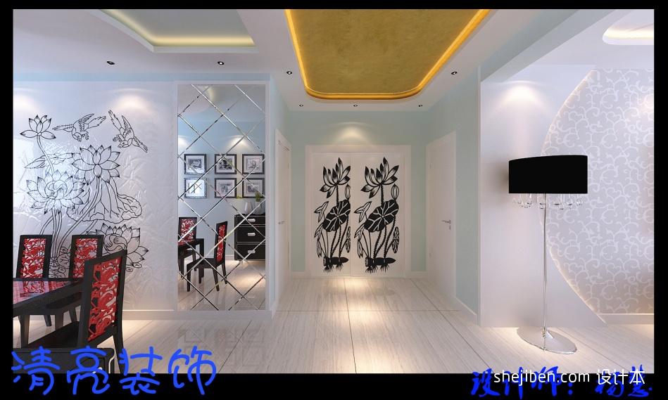 精美84平方二居客厅混搭装修实景图客厅潮流混搭客厅设计图片赏析