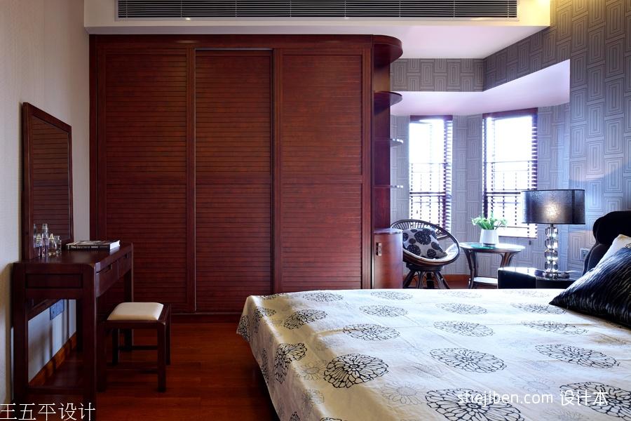 热门中式卧室实景图片大全功能区其他功能区设计图片赏析