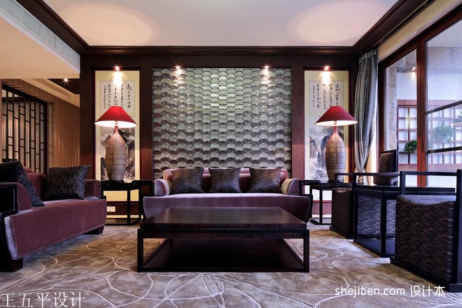 深圳集信名城样板房设计新中式的魅惑设计图片赏析