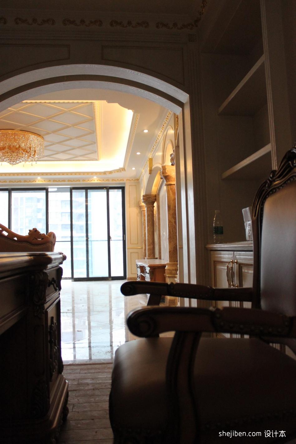 精致263平混搭样板间客厅装修设计图客厅潮流混搭客厅设计图片赏析