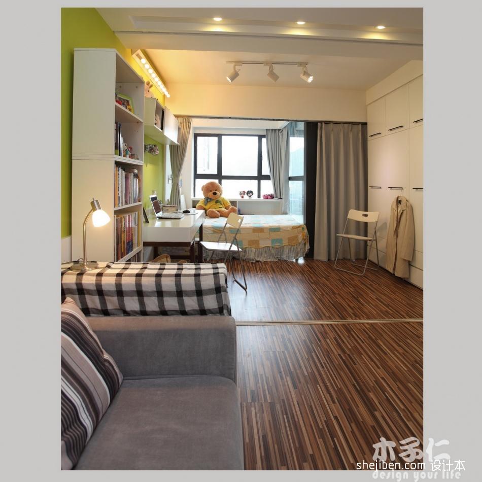 温馨25平混搭小户型卧室装修美图卧室潮流混搭卧室设计图片赏析