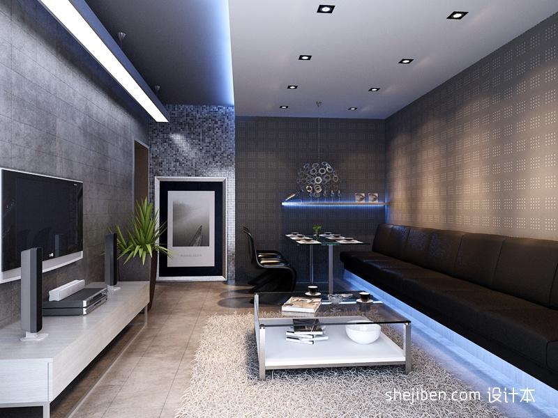 华丽56平混搭二居客厅实拍图客厅潮流混搭客厅设计图片赏析