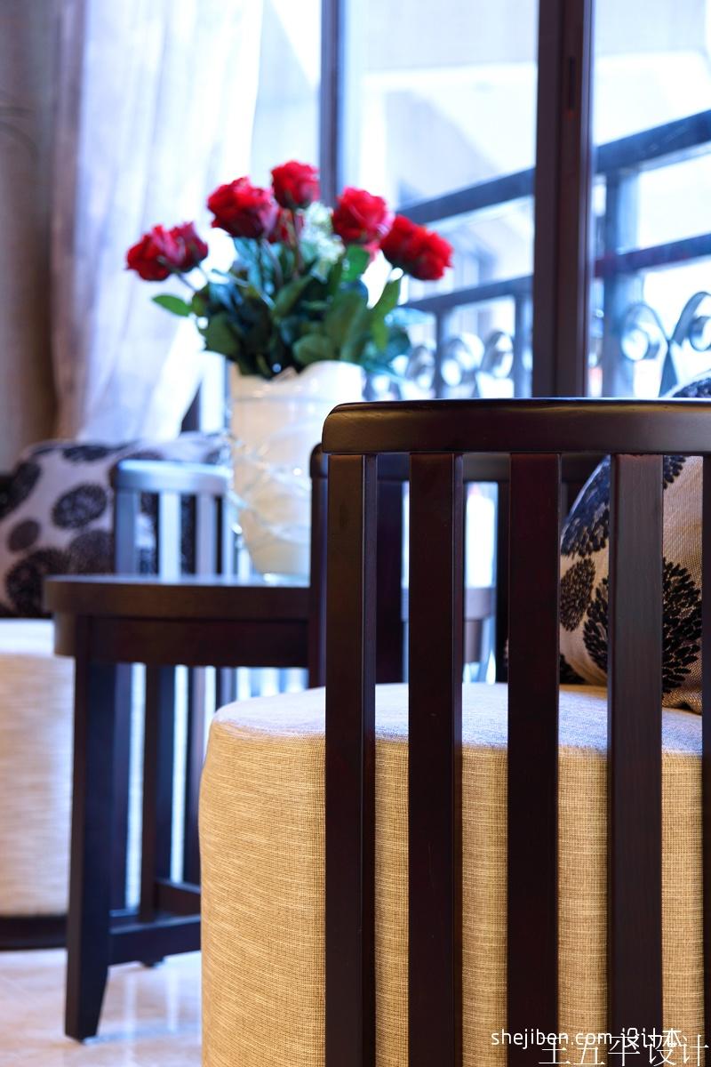 轻奢282平中式样板间客厅装饰图功能区其他功能区设计图片赏析