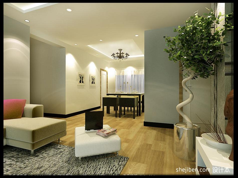 清清客厅潮流混搭客厅设计图片赏析