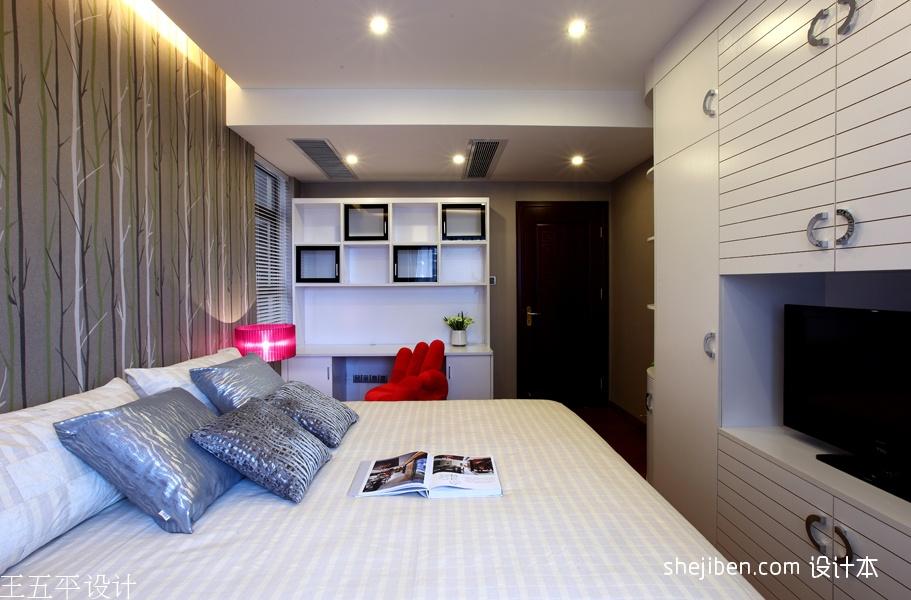 质朴289平中式样板间卧室装修案例功能区其他功能区设计图片赏析