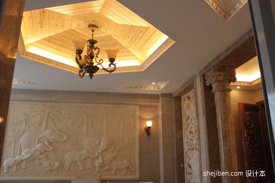精致258平混搭样板间客厅装修案例客厅潮流混搭客厅设计图片赏析