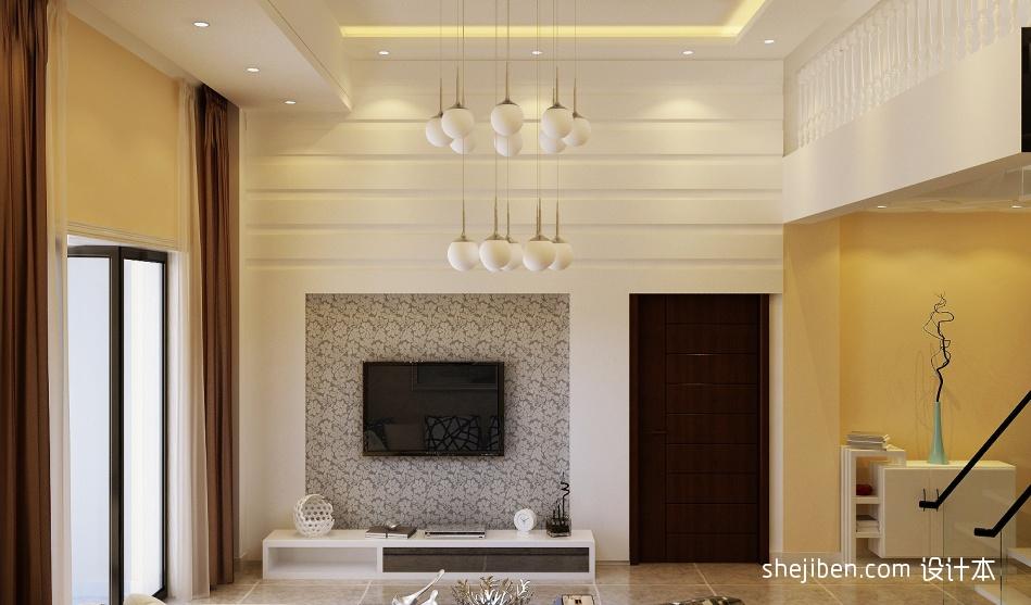 热门面积141平复式客厅混搭装修效果图片欣赏潮流混搭设计图片赏析