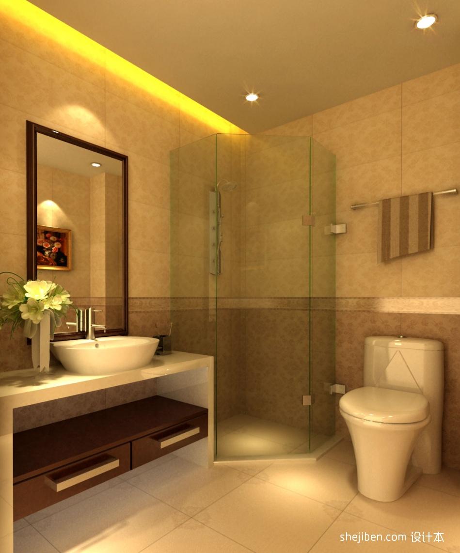 宾馆标准间卫生间设计图片酒店空间其他设计图片赏析