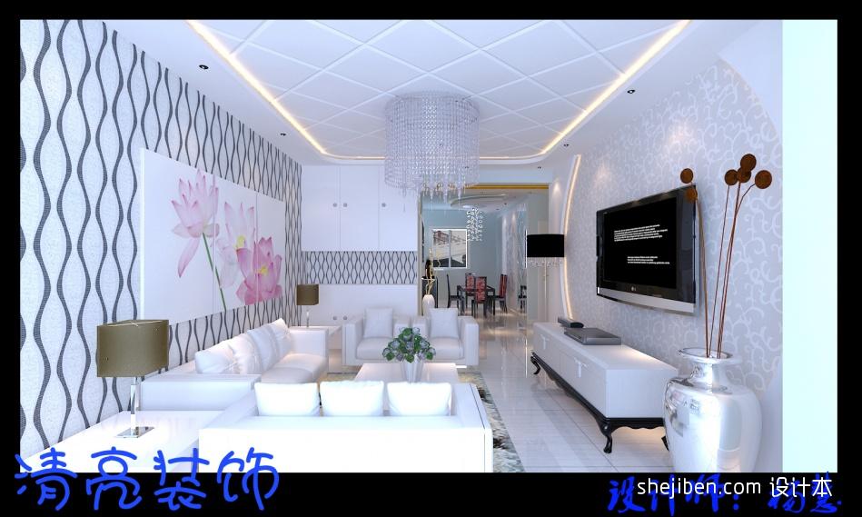 精选81平米二居客厅混搭装修效果图客厅潮流混搭客厅设计图片赏析