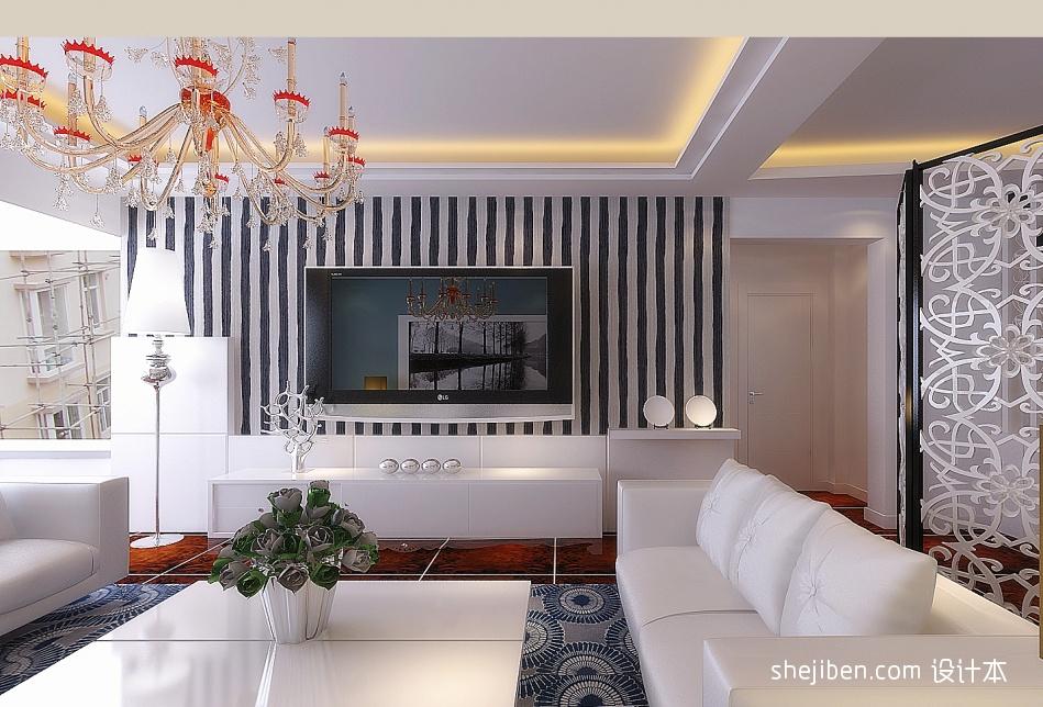 年轻主义客厅潮流混搭客厅设计图片赏析