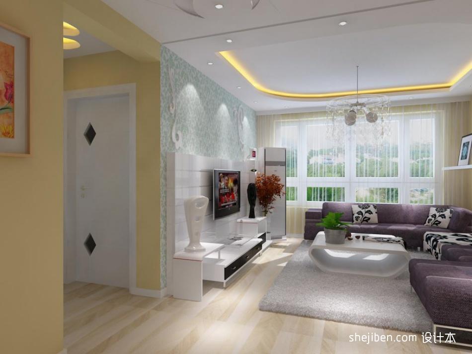 平混搭二居客厅装修装饰图客厅潮流混搭客厅设计图片赏析