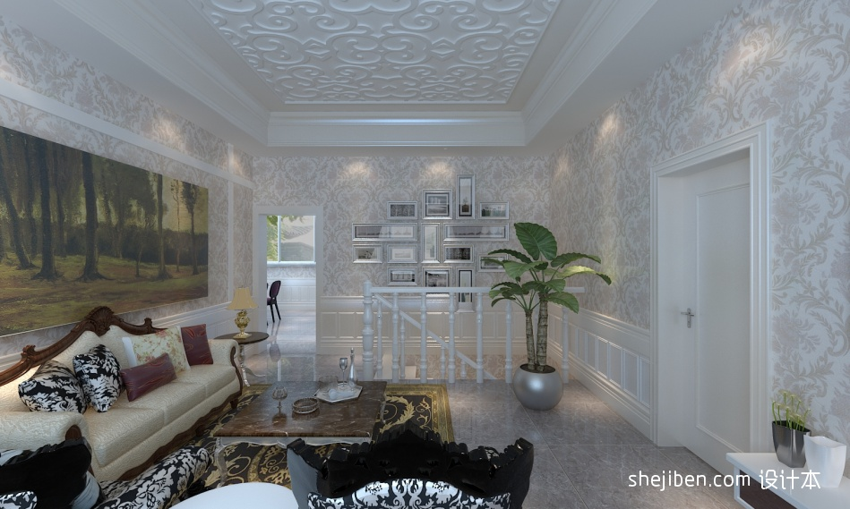 热门129平米混搭别墅客厅实景图片欣赏客厅潮流混搭客厅设计图片赏析